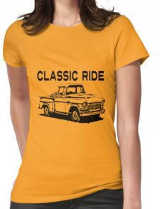 OLD TRUCK Womens Fitted T-Shirt