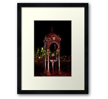 Williamstown Drinking Fountain Framed Print