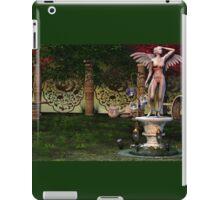 Fairy Statue Landscape 04 iPad Case/Skin