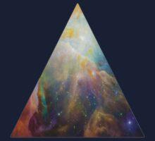 The Orion Nebula Triangle Kids Tee