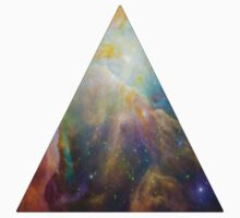 The Orion Nebula Triangle Baby Tee