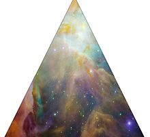 The Orion Nebula Triangle by luckylucy