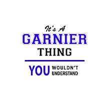 It's a GARNIER thing, you wouldn't understand !! by thestarmaker