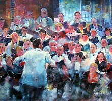 Choir In Concert by Ballet Dance-Artist