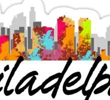 Philadelphia Pennsylvania Skyline Sticker