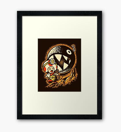 Raiders of the lost star Framed Print