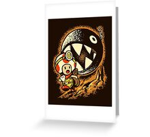 Raiders of the lost star Greeting Card