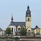 St Peter's Church, Koblenz, Germany by Margaret  Hyde