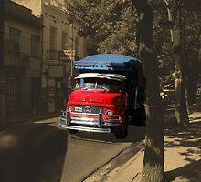 red truck by rrutten