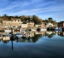 Padstow Harbour by cwwphotography