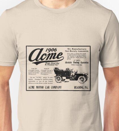 ACME MOTOR COMPANY 1906 Unisex T-Shirt