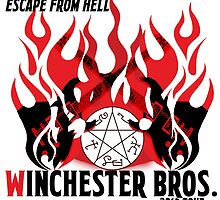 Winchester Bros. Band - Escape From Hell Tour by archofimagine