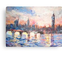 Colourful London Canvas Print