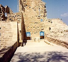 Israel - Acre - ruin of Crusader city by Shulie1