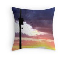 Sun Power Throw Pillow