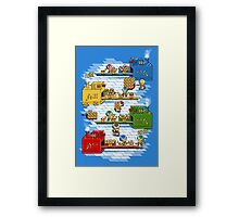 Toad's factory Framed Print