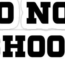 Unarmed Do Not Shoot Me Sticker