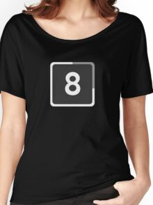 SNAP EIGHT8 Women's Relaxed Fit T-Shirt