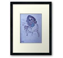 Ozzy Framed Print