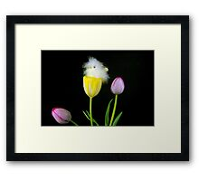 Bloomin' Bird Framed Print