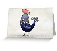 Fancy Chicken Greeting Card