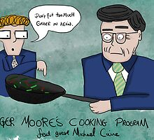 Roger Moore's Cooking Programme by Ed Clews