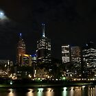 Melbourne at night 06 by DavidsArt