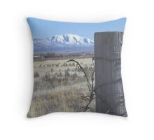 Life down on the farm Throw Pillow