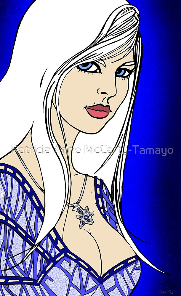 Sapphire by Patricia Anne McCarty-Tamayo