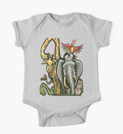 Wild Animals Kids Clothes
