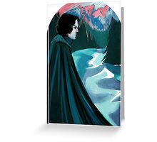 Jon Snow: Mountains Greeting Card