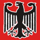Bundesadler t-shirts by valizi