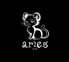 Zodiac Tote Bags-Aries by HumourBites