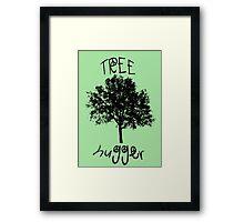 Tree Hugger Peace Framed Print