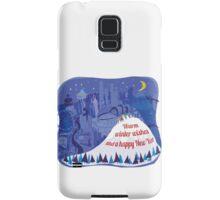 Seattle Holiday Card Samsung Galaxy Case/Skin