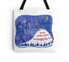 Seattle Holiday Card Tote Bag