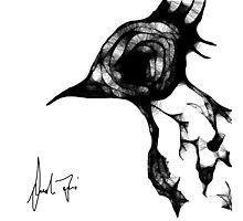 Psycho Bird Photographic Print