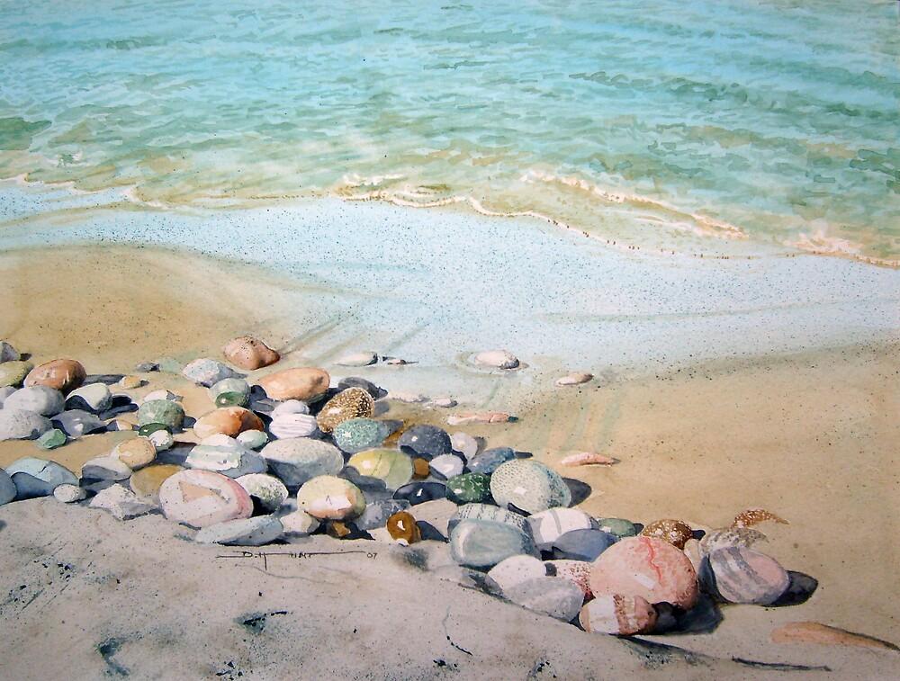 Pebble Beach by Douglas Hunt