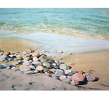Pebble Beach Photographic Print