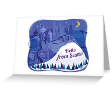 Hello from Seattle! by Wendy Wahman Greeting Card