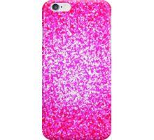 Bright pink glitter design phone case iPhone Case/Skin