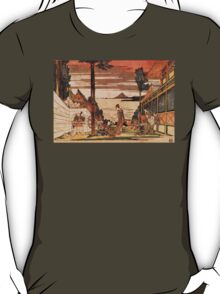'First Act' by Katsushika Hokusai (Reproduction) T-Shirt