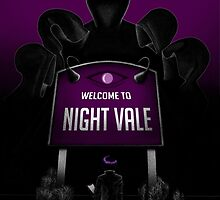 Welcome to Night Vale x Silent Hill Mash Up  by BixbyPlanet