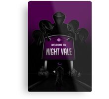 Welcome to Night Vale x Silent Hill Mash Up  Metal Print