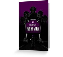 Welcome to Night Vale x Silent Hill Mash Up  Greeting Card