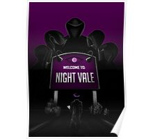 Welcome to Night Vale x Silent Hill Mash Up  Poster