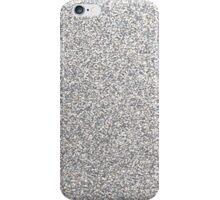 Silver glitter design phone case iPhone Case/Skin