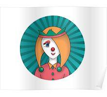 clown girl Poster