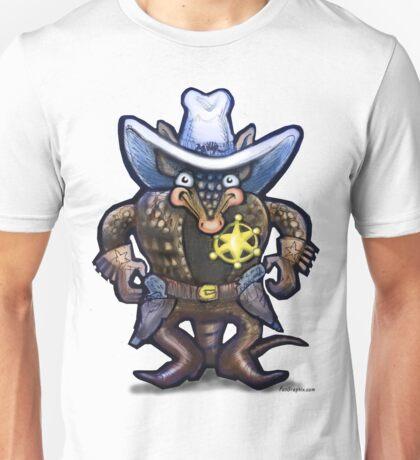 Sheriff Dillo Unisex T-Shirt