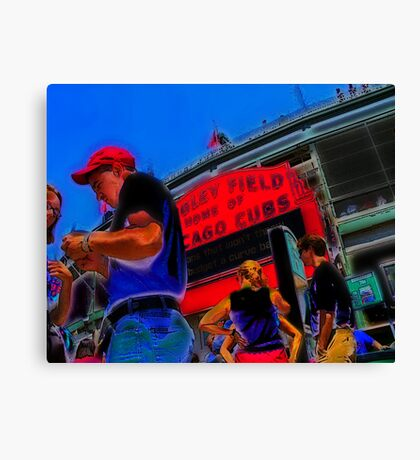 game day tickets Canvas Print